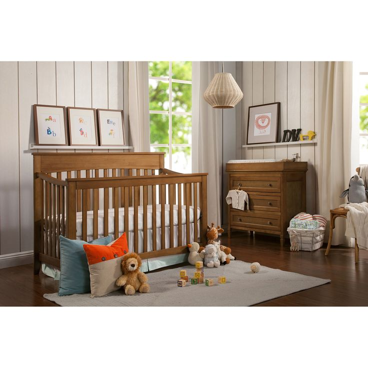 Lowest Price Online On All DaVinci Grove Convertible Crib In Chestnut