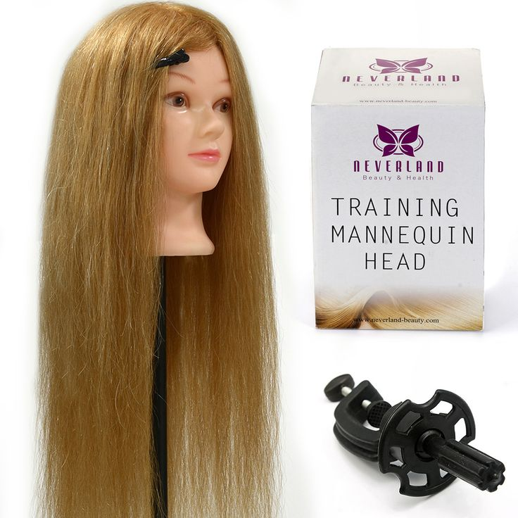 """>> Click to Buy << Salon Styling Model 26"""" Hairstyles Hairdressing TRAINING HEAD 90% ANIMAL HAIR MANNEQUIN Head Mannequins + Clamp Hairstyles Doll #Affiliate"""