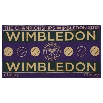 Wimbledon Mens Championships Towel 2012