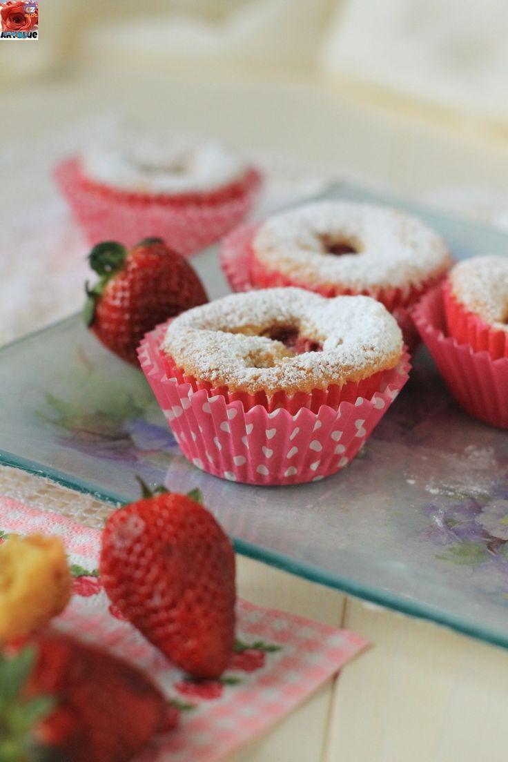 Cupcakes alle Fragole e Cocco