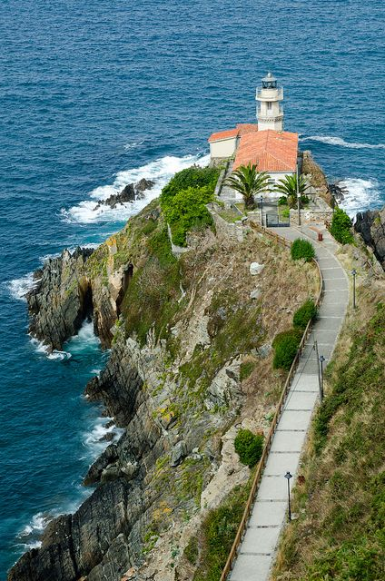 Cudillero Lighthouse, Cudillero, Asturias, Spain | Flickr - Fotosharing!