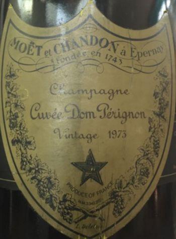 1973 Moët & Chandon Champagne Cuvée Dom Pérignon