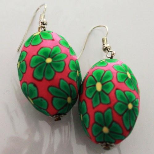 Printed Earrings