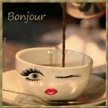 Un café des yeux doux et un bisou!!!   Visitez notre site : Http://letopdelhumour.fr