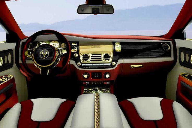 Rolls-Royce Interior | Fenice Rolls Royce Ghost-Interior View