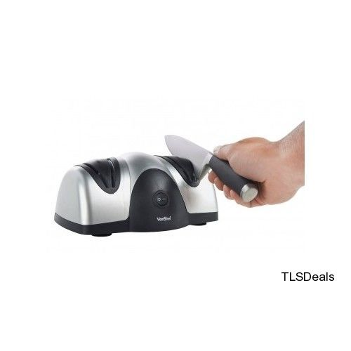 Electric Professional Kitchen Knife Double Sharpener Precision