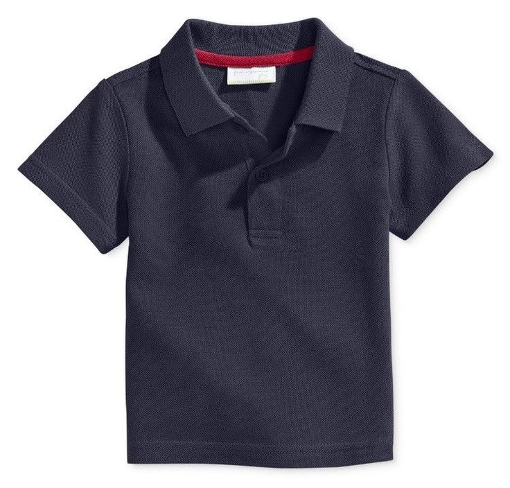 New First Impressions Baby Boy Polo Nautical Short Sleeve Top  | eBay