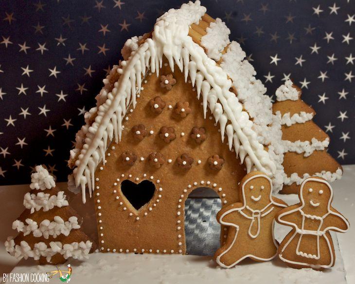 Maison pain epices DIY Calendrier de l'Avent des cadeaux gourmands 17 déc – Maison en pain dépices [Vidéo + gabarit inside]