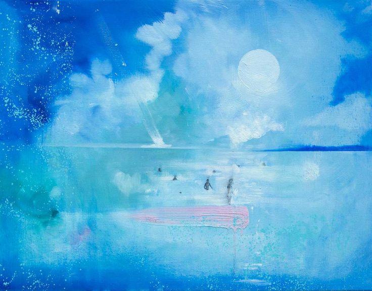 Night Swim - Galleri Gro Holter