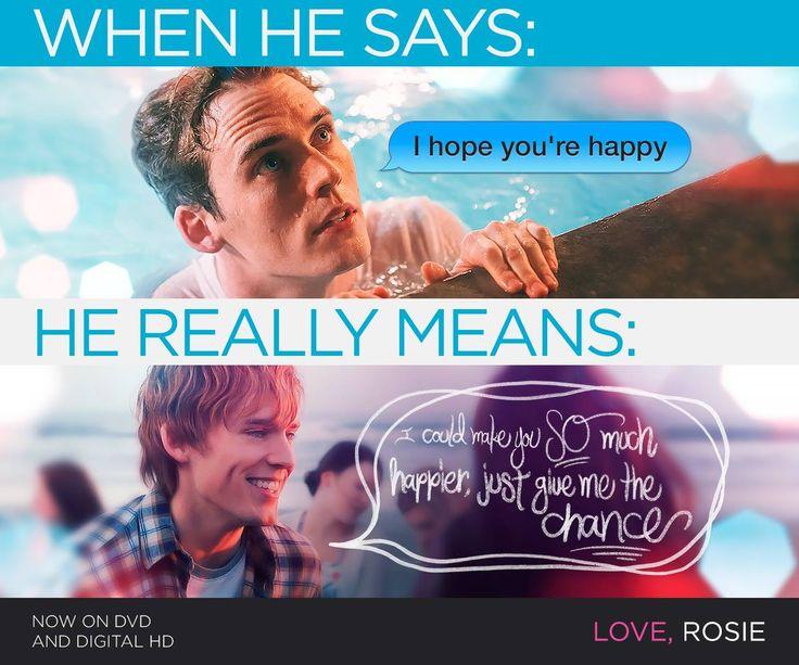 134 best love rosie images on pinterest love rosie movie