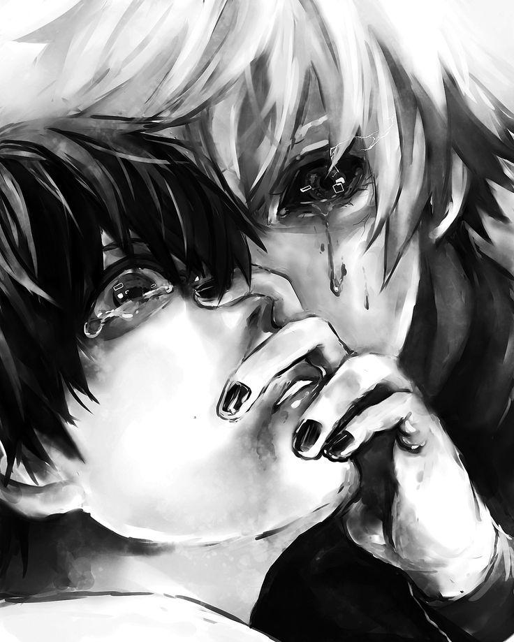 Kaneki Ken _Tokyo Ghoul (Oh my heavens this is perfect for kaneki)