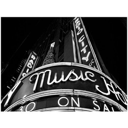 Trademark Art Radio City Canvas Art by Yale Gurney, Size: 14 x 19, Multicolor