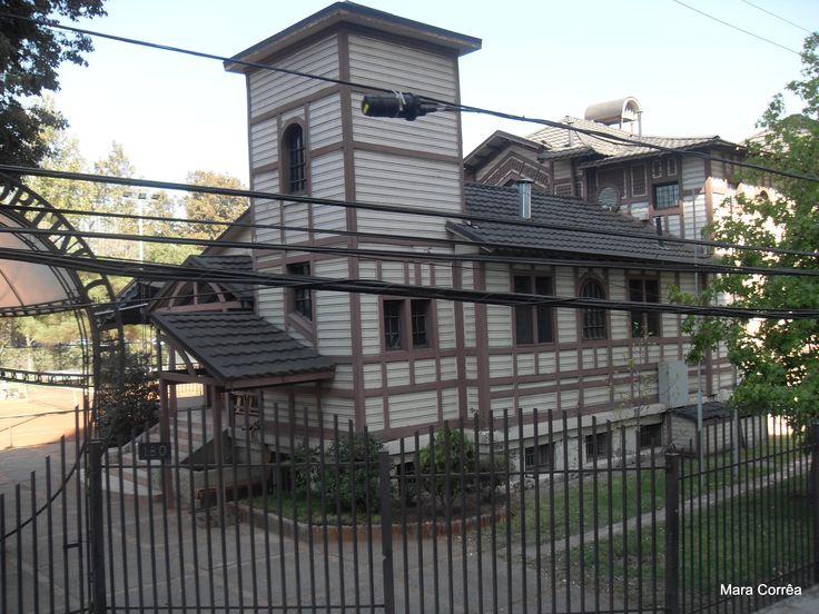 Casa construída pelos ingleses no inicio do século 20, em Valparaiso/Chile.