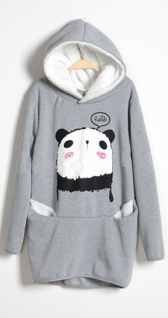 Panda sweater ..this looks sooo comfy