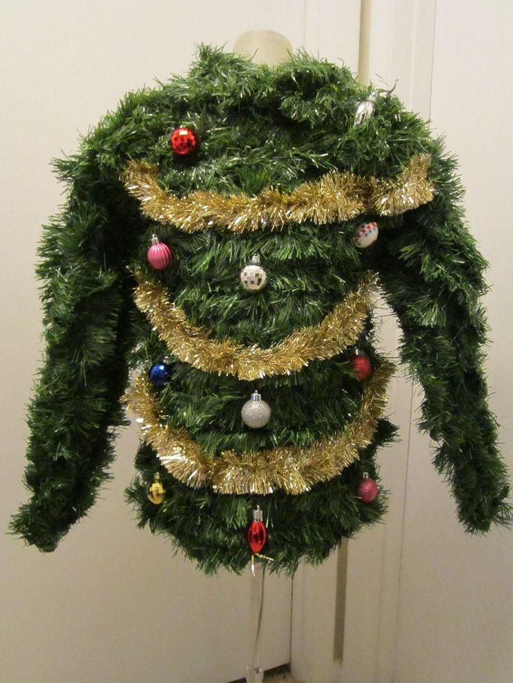Christmas tree sweater pinterest