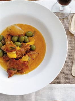 """Honey-braised duck with orange and olives. """"This is a really delicious dish, where the oven does all the work for you. Many people seem to steer clear of cooking duck at home. Make this and it will change your mind."""" – Neil Perry"""