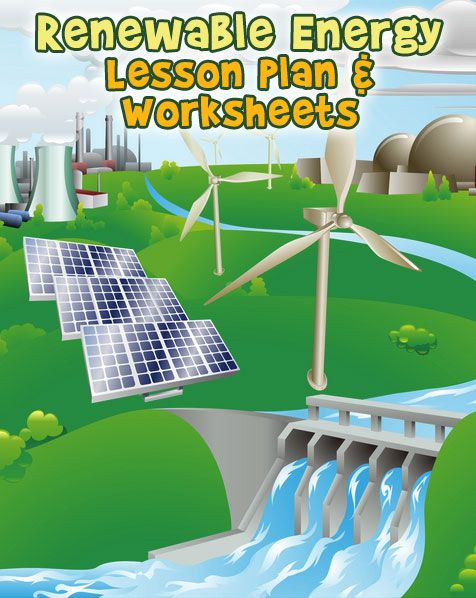 Learn about renewable energy sources with these worksheets and lesson plan for 3rd, 4th or 5th grade.