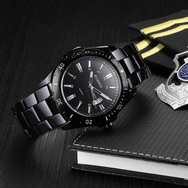 Reloj CURREN Hombres Marca de moda reloj de cuarzo Del Ejército Analógico deportes Ocasionales 8110 envíos gratuitos en todo el mundo