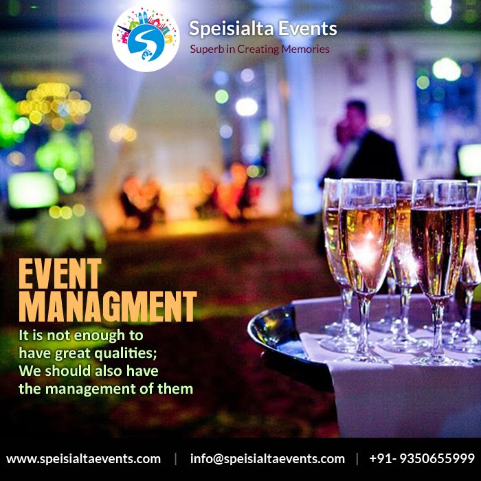 """""""It's not enough to have great qualities, We should also have the management of them"""" #speisialtaevents #events #decor #decoration #weddingplanner #evenorganizer Visit Our Website: www.speisialtaevents.com For Booking Call:+91-9350655999, +91-9350455999"""