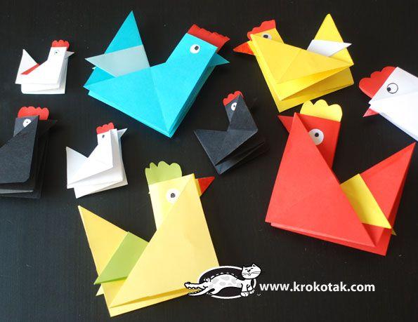 http://www.pinterest.com/allenen/oragami/Origami hen