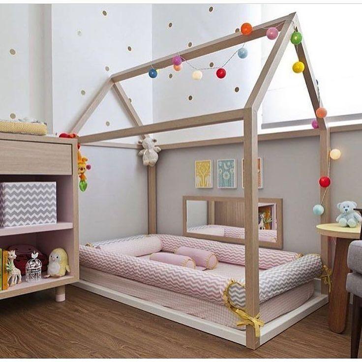 Cabana para quarto feminino!!! #inandoutkids // Cabana for female room by inandoutkids http://discoverdmci.com