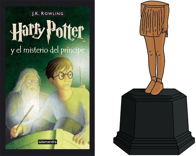 Con la falda remangada: Harry Potter con la falda remangada: TOP libros.