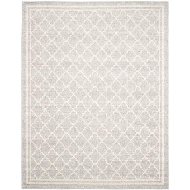 Safavieh Amherst Light Grey/Beige 8 ft. x 10 ft. Indoor/Outdoor Area Rug
