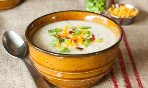 Hash-Brown Potato Soup | Relish.com