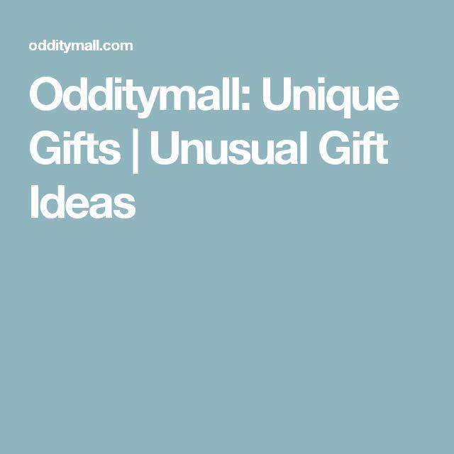 Odditymall: Unique Gifts | Unusual Gift Ideas