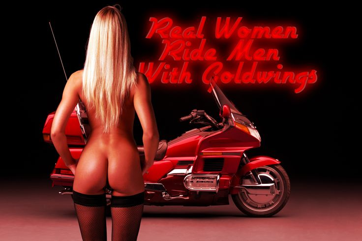 real women ride men with goldwing, real, women, ride, men, with, goldwing, 1500,1800,red, honda