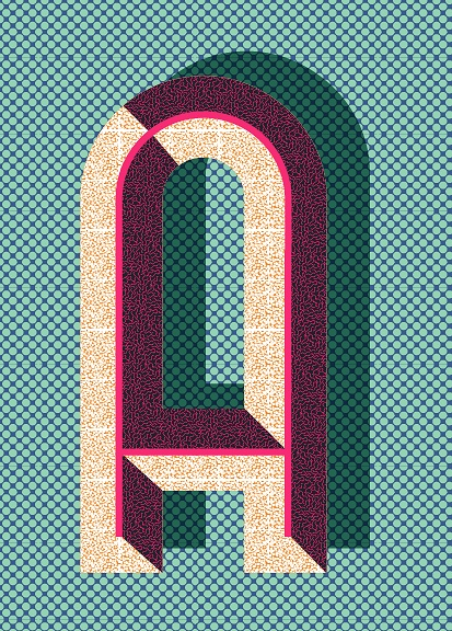 typography | letter A