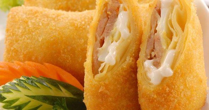 Resep Risoles Mayo Keju Komplit Dan Cara Membuat Mayo Keju Meleleh Serta Olahan Resep Risoles Isi Mayones Serta Cara Menggulung Risol Mayo Makanan Cemilan Keju