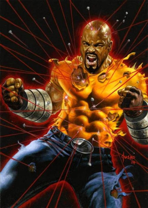 Luke Cage by Joe Jusko (2016 Marvel Masterpiece)
