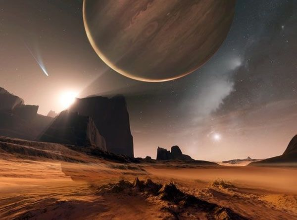 planet alien landscape | Short Sharp Science: Exoplanet ...