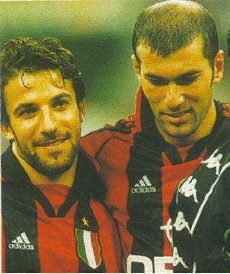 Alessandro Del Piero and Zinedine Zidane