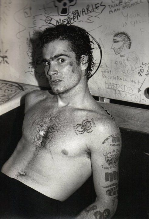 Henry Rollins - Black Flag Days. One Of A Youthful Dave Grohl's Favorite Bands.