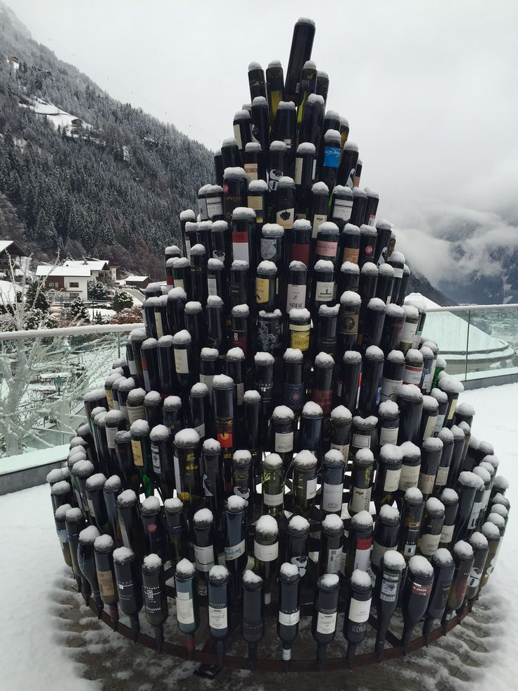 Bottle Tree @ STOCK resort, Winter 2016, www.stock.at - 5 Star Luxury Travel Hotel Resort