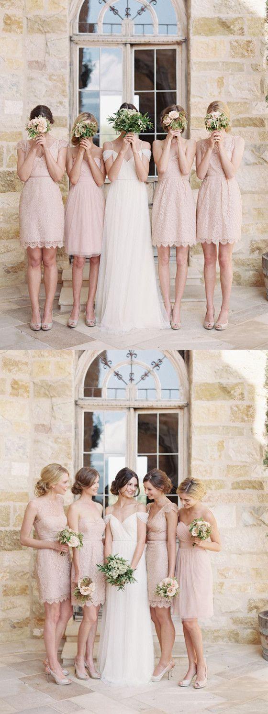 New Arrival lace Cheap short simple bridesmaid dresses, elegant bridesmaid dresses, BD0428