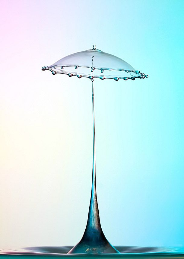 Stunning High Speed Water Drop Photographs