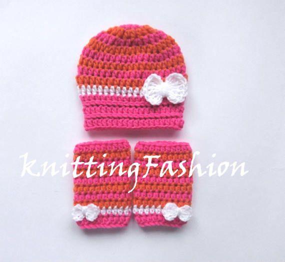 VENTA 30% en venta de ganchillo bebé sombrero de raya chica