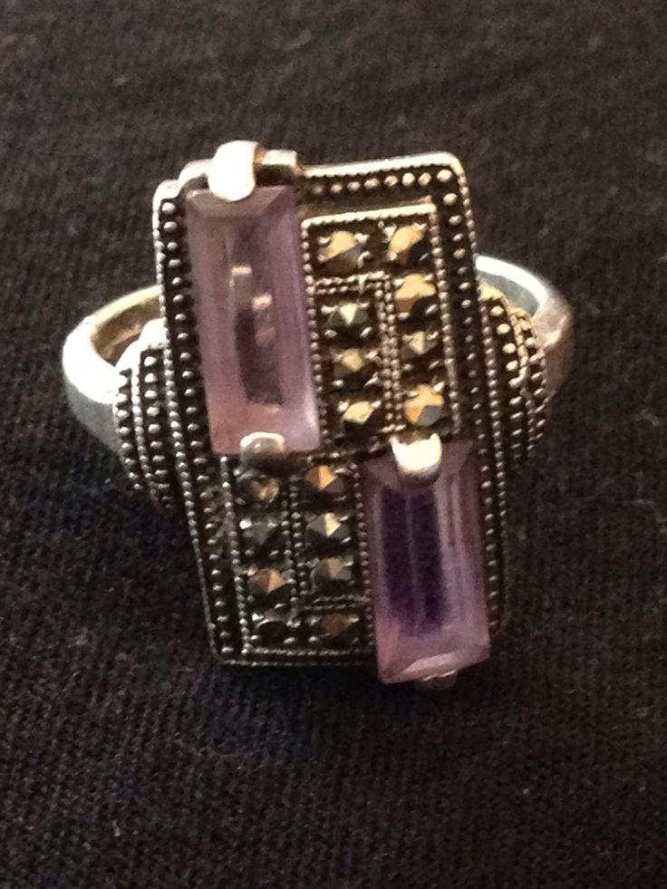 My favourite ring Marcasite silver