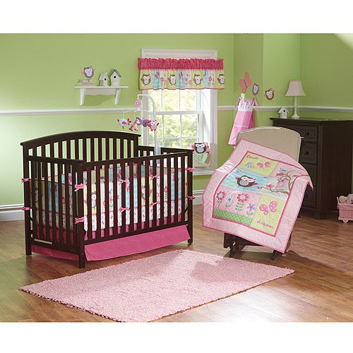 garanimals hearts at home 3pc crib bedding set value 87354