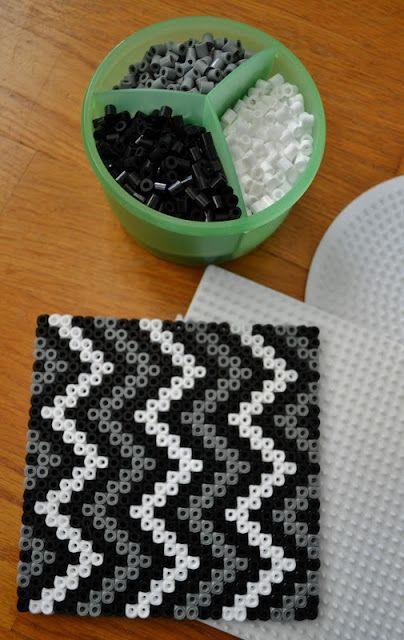 hama (perler) bead coasters