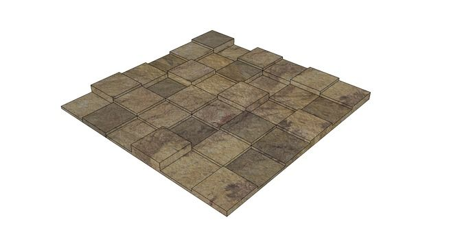 Mosaico 30x30 Mosarte - 3D Warehouse