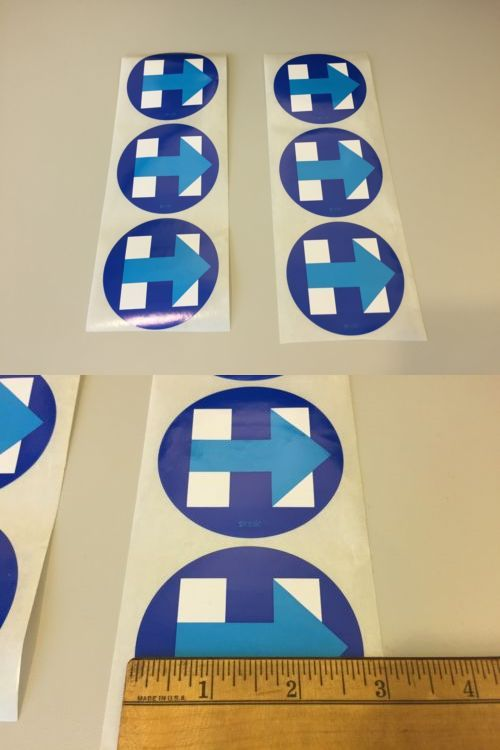 Hillary Clinton: Hillary Clinton- President 2016- Official Logo Campaign Stickers- Set Of 6 -> BUY IT NOW ONLY: $4.75 on eBay!