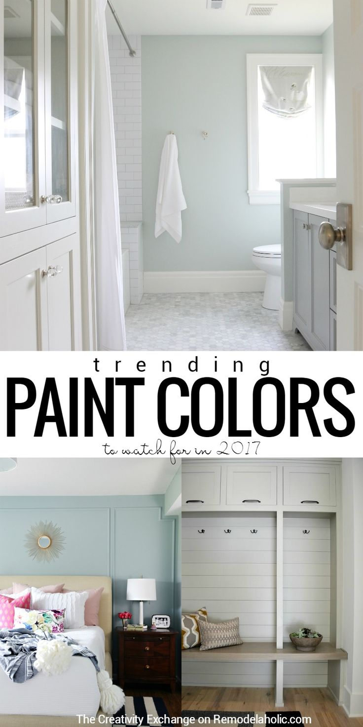 Popular and trending paint colors | Tips for choosing the right paint color | Best interior paint colors @remodelaholic