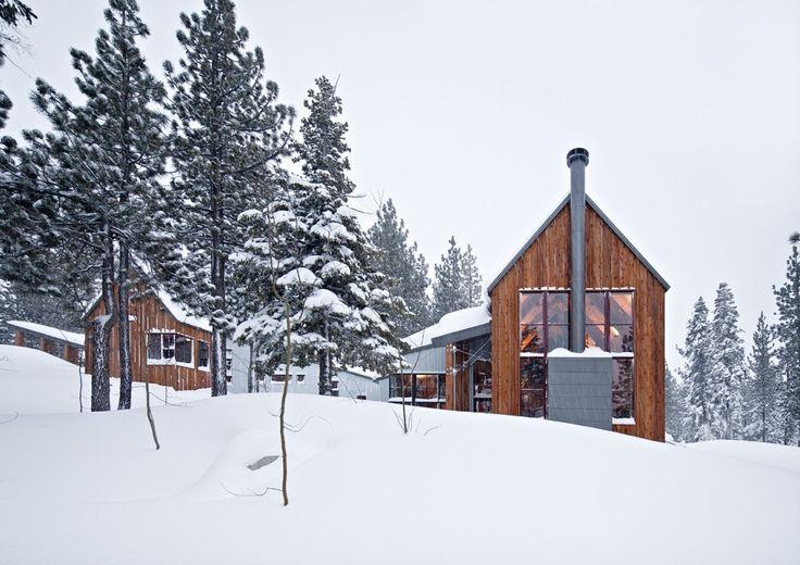 Tahoe Ridge House in Winter