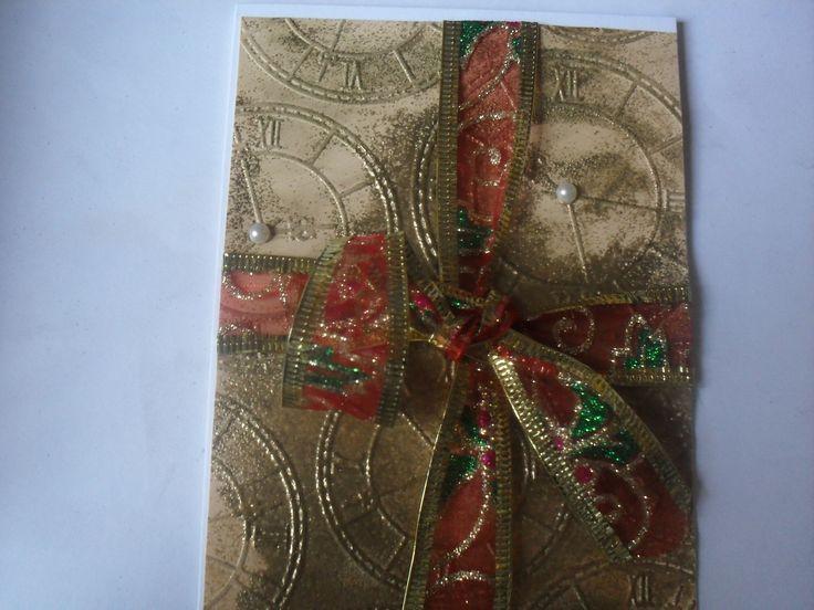 tarjeta de navidad 12 campanadas...