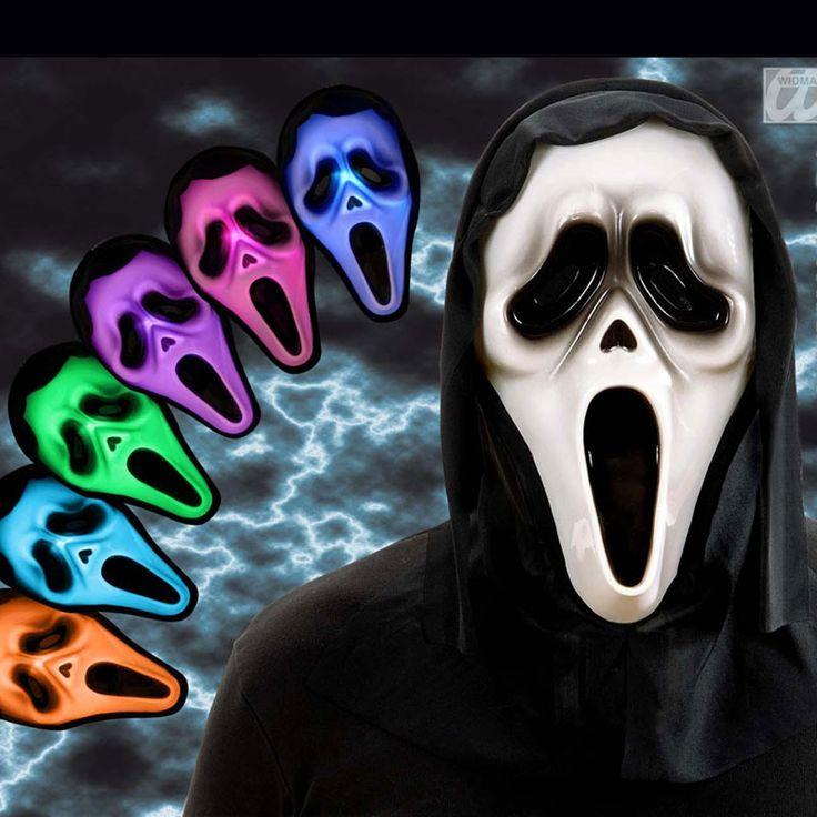 Masque Scream avec lumière #masquesdéguisements #accessoiresdéguisements #accessoiresphotocall