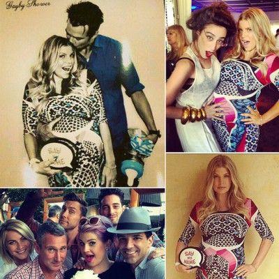 Fergie's Topsy Turvy Celebrity Baby Shower! | Sweet E's Blog